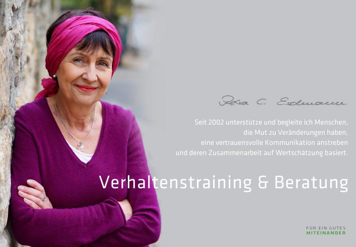 Petra Erdmann - Teamtraining, Verhaltenstraining